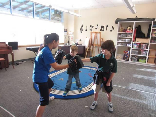 Martial Arts Punching