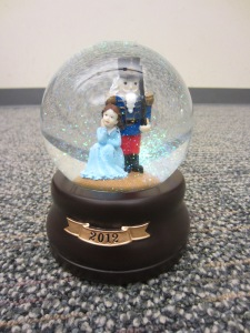 The Nutcracker Snowglobe