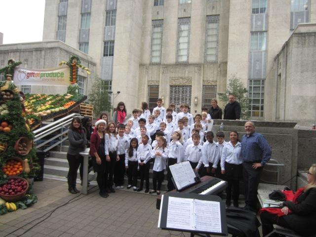 The Parish School Choir