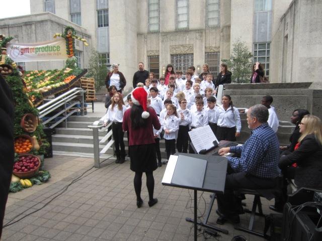 The Parish School Choir Gift of Produce
