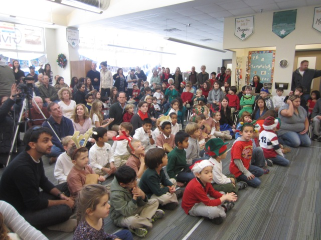 Winter Sing-A-Long Audience