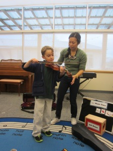 B.R. Alligators Violin