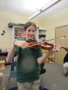 A.M. Explorers Violin