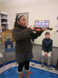 S. Explorers Violin
