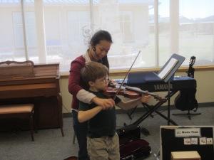 S. Mustangs Violin