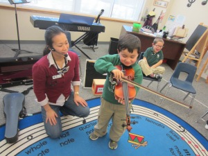 N. Giraffes Violin
