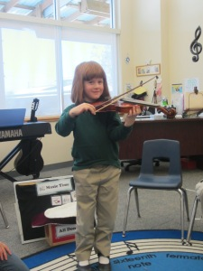 K. Bears Violin
