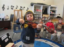 S. Agents Violin