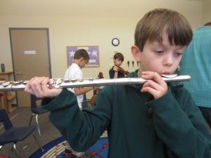 J. Mustangs Flute