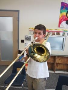 E. Mustangs Trombone