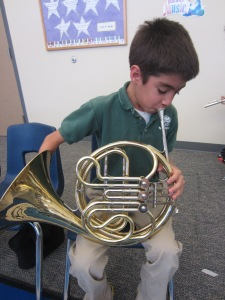 A. Mustangs French Horn