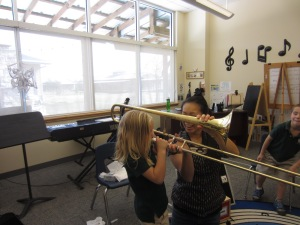 K. Giraffes Trombone