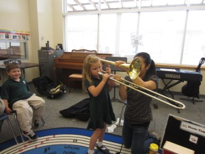 M. Giraffes Trombone