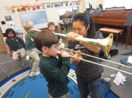 B. Giraffes Trombone