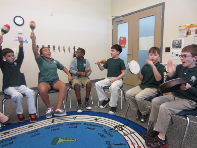 Explorers African Instruments and Dance