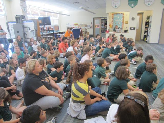 Parish School Audience