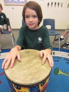 R. Mustangs  Drumming Contest
