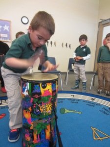 C. Agents  Drumming Contest
