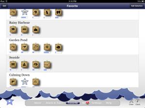 Relax Melodies iPad App