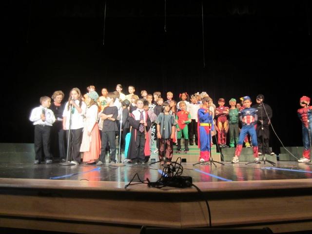 """The Parish School Choir """"Let Your Love Flow"""" Musical"""