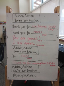 Thank you, Adrien!