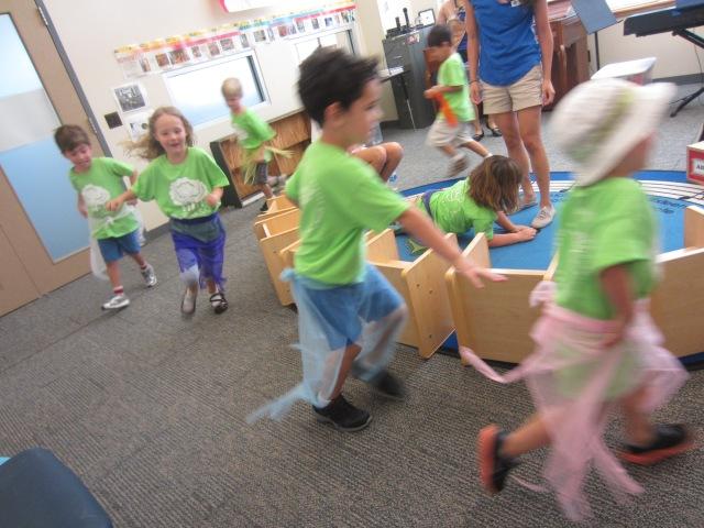 Turtles Hula Dance