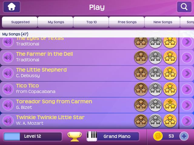 Magic Piano iPad App