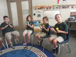 Penguins Instrument Play